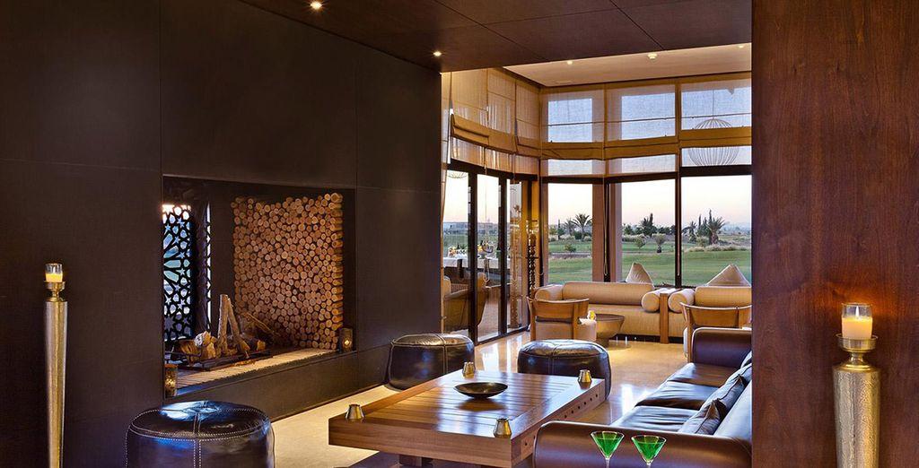 Explore the spacious and contemporary decor