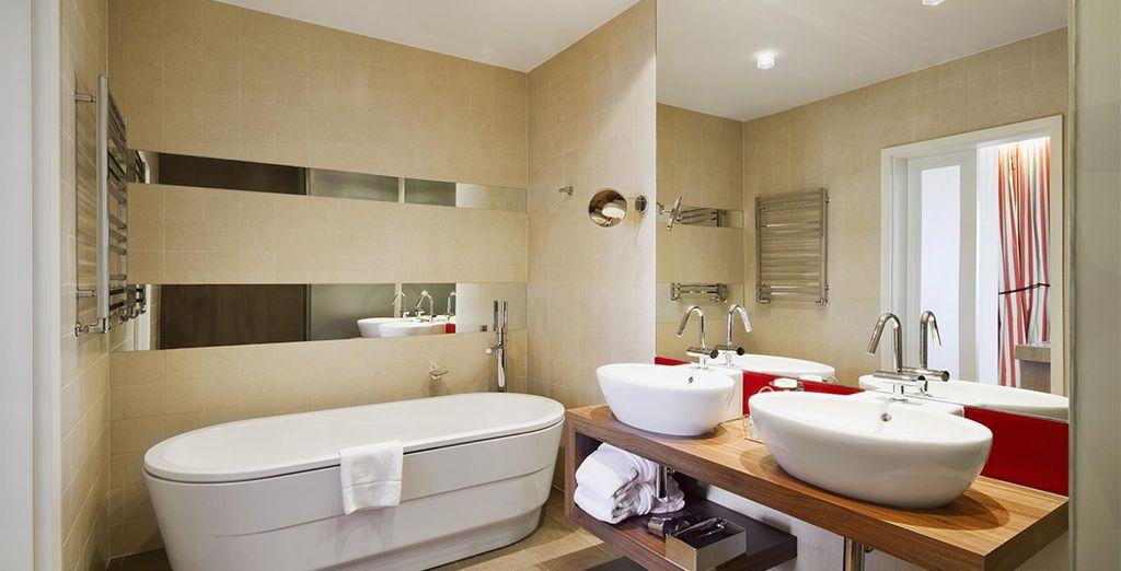 With modern and sleek facilities