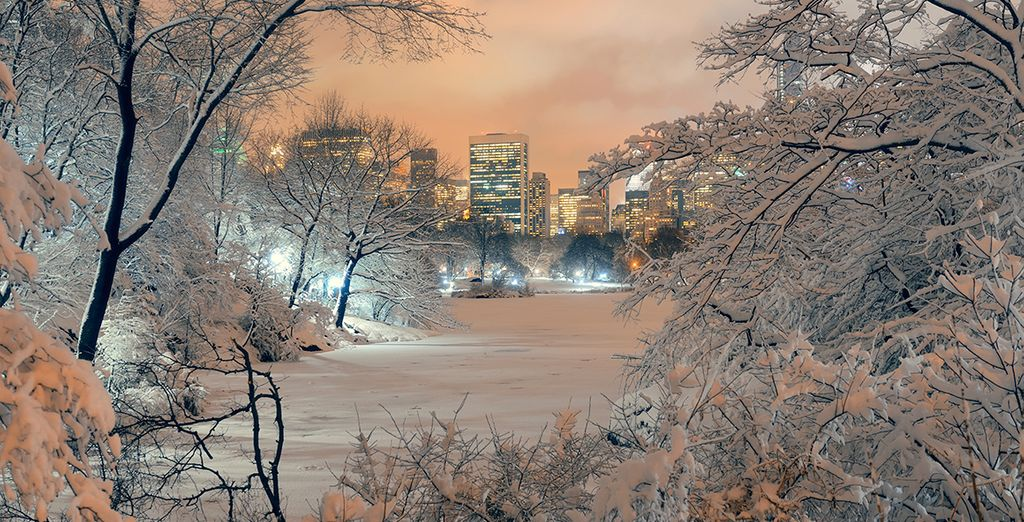 New York is particulalry magical in the Winter