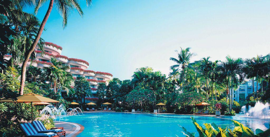 Get set for your Far East adventure... - Shangri-La Singapore & Grand Hyatt Bali 5* Singapore & Bali