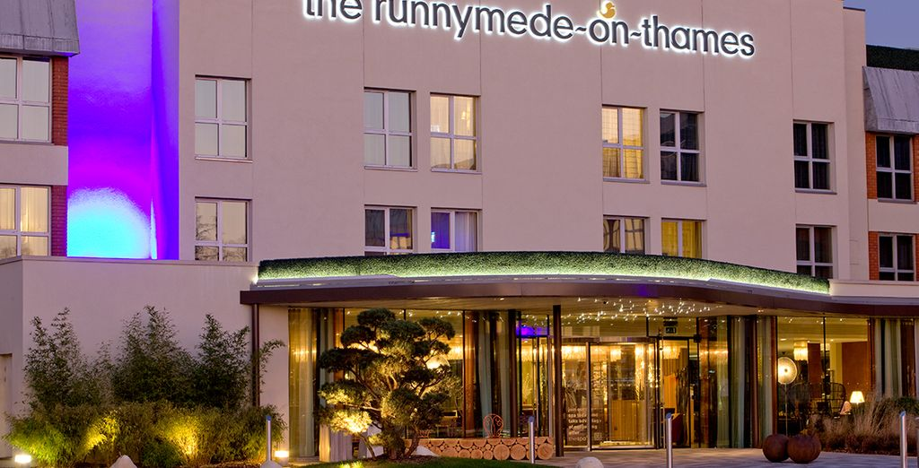 At the Runnymede-On-Thames Hotel and Spa - The Runnymede-On-Thames Hotel and Spa 4* Windsor