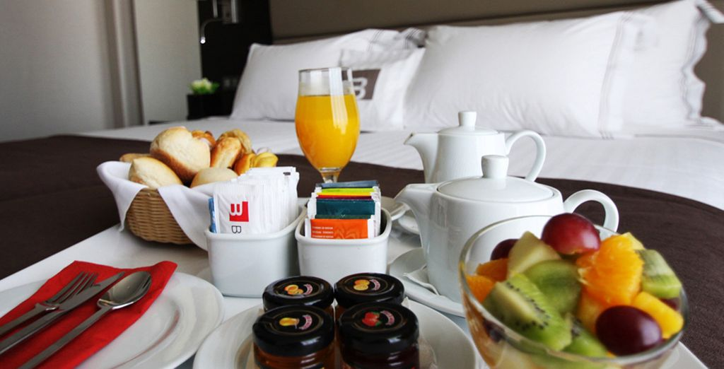 With delicious daily breakfast