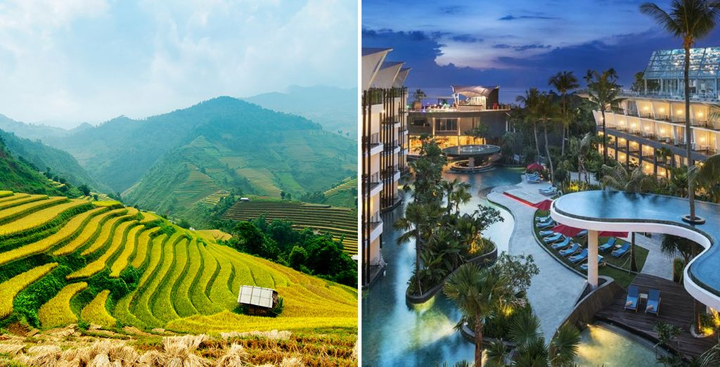 Experience the two sides of Bali...