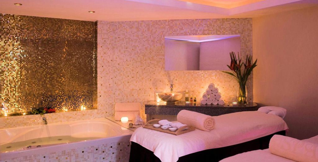 The Elixir spa is not to be missed - indulge in a  massage to wind down from your flight