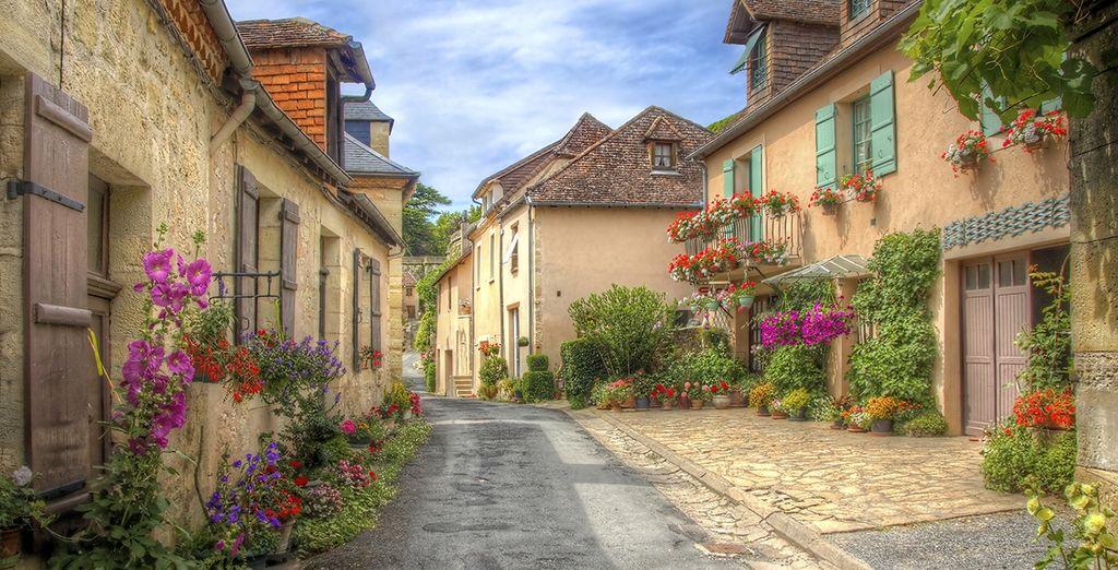 And quaint villages