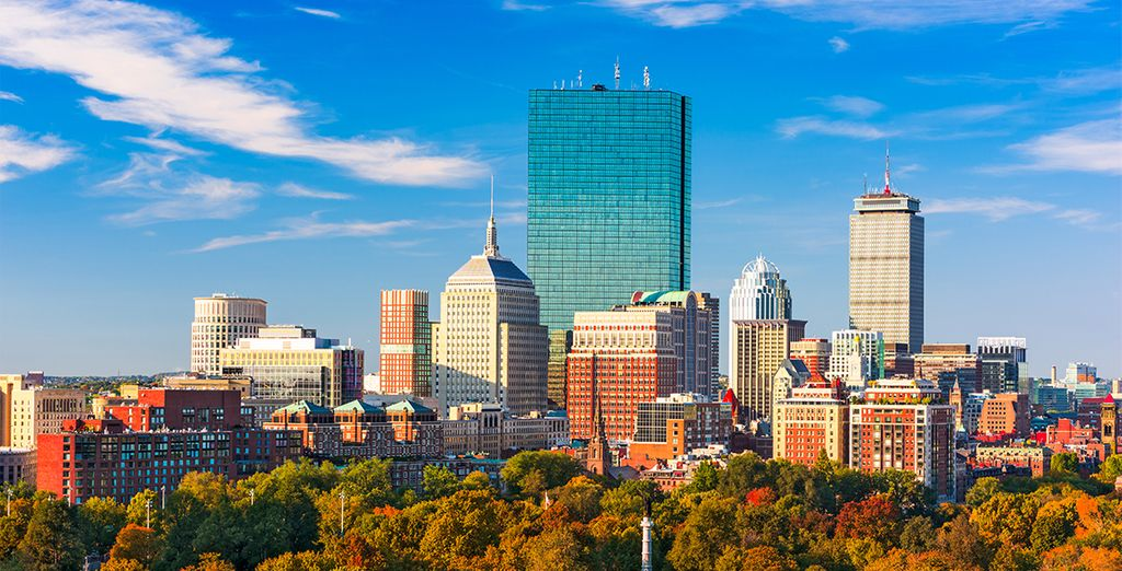 And get to explore the exciting location of Boston!