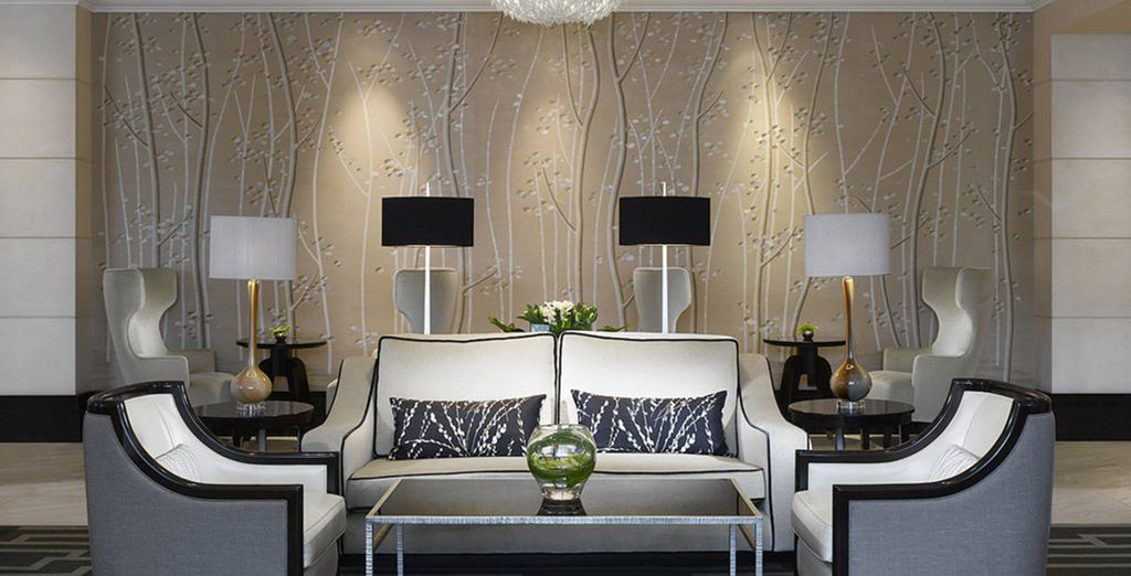 Return to your hotel and relax in the sophisticated lounge