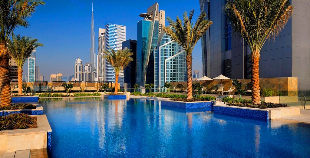 Where you'll stay at JW Marriott Marquis Dubai 5*