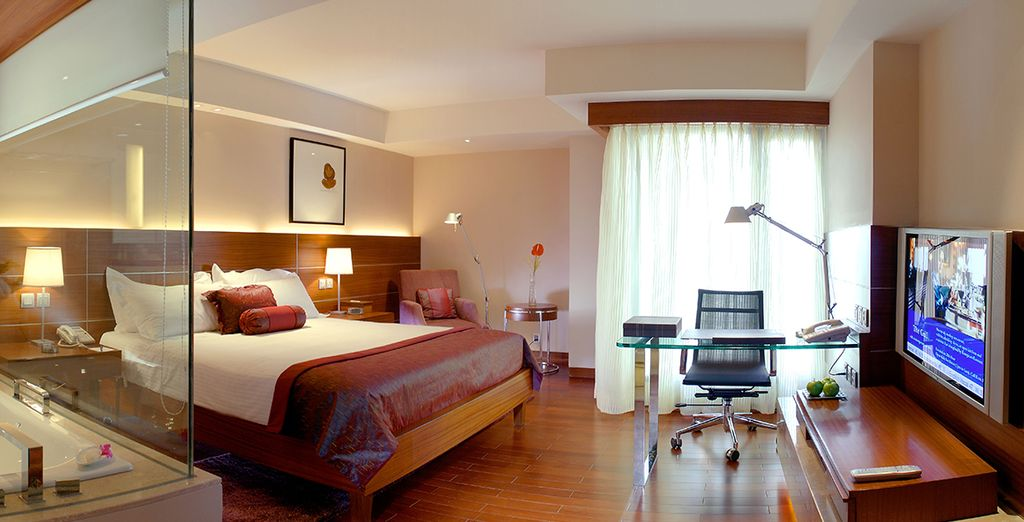 With superb rooms