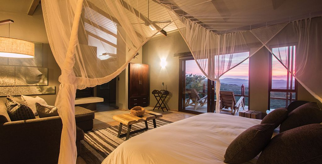 For a 2 night stay with twice daily game drives