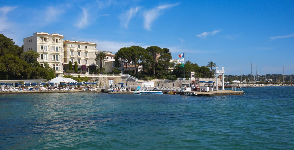 This authentic Art Deco palace is sure to impress - Hotel Belles Rives 5* Juan les Pins