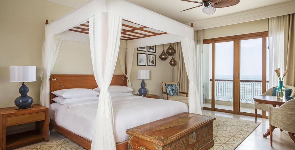 Enjoy your room with lovely views