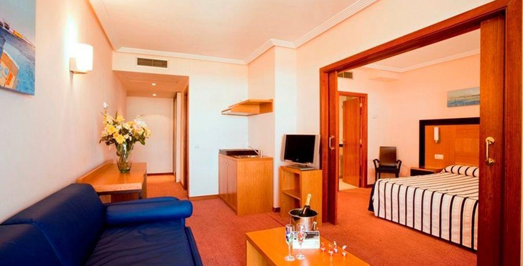 Or luxurious Junior Suites