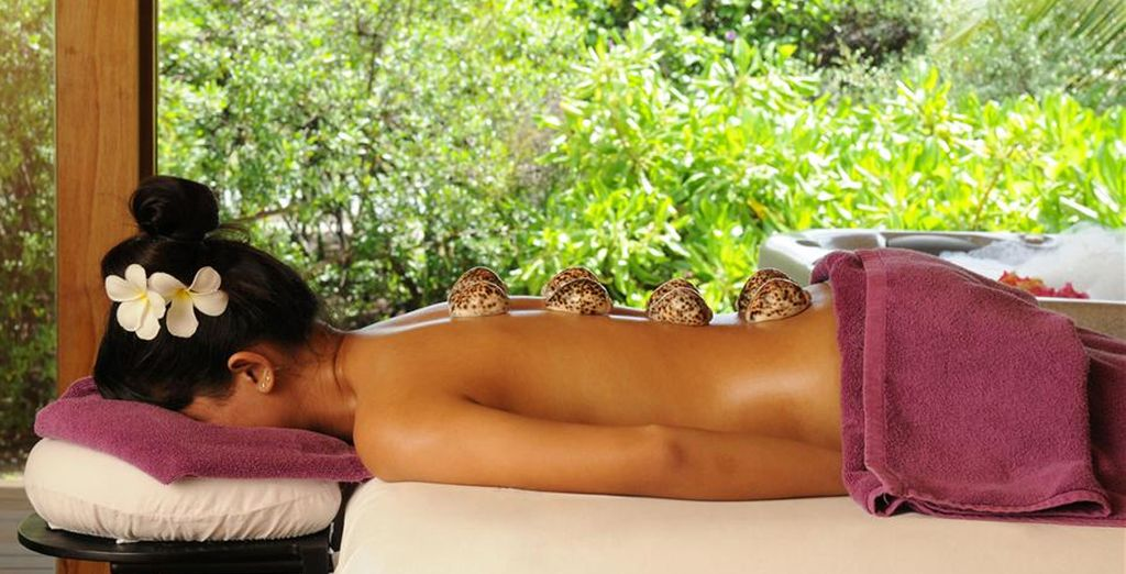 Unwind with a spa treatment
