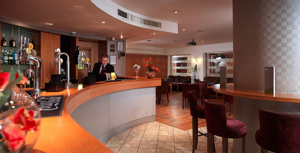 Or grab a drink in the hotel bar