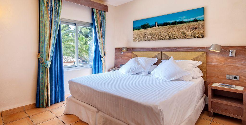 Discover your spacious Junior Suite