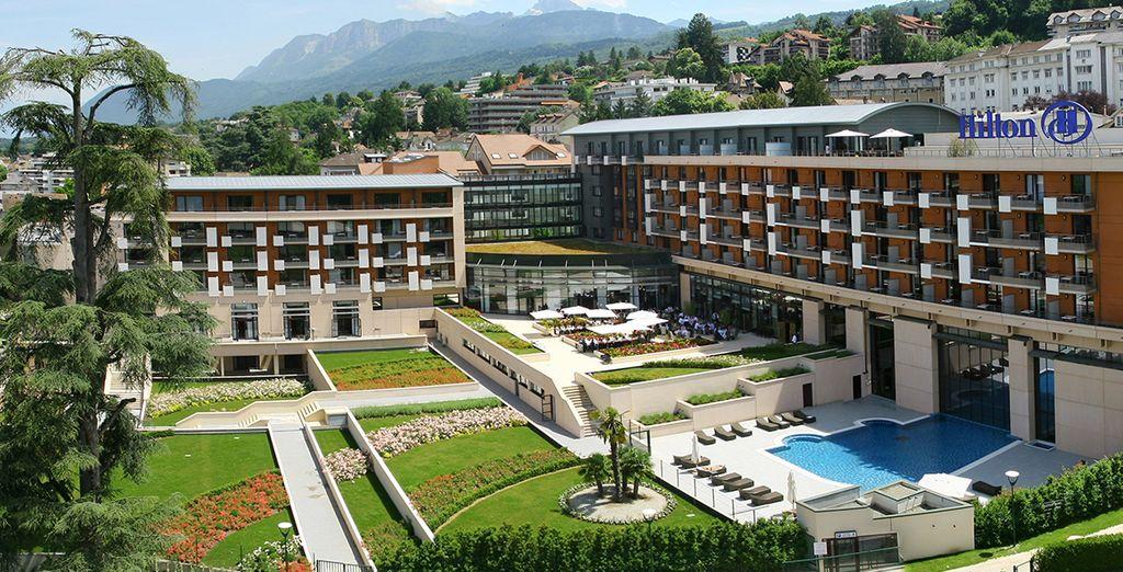Is the 4* Hilton Evian les Bains - Hilton Evian les Bains 4* Evian Les Bains