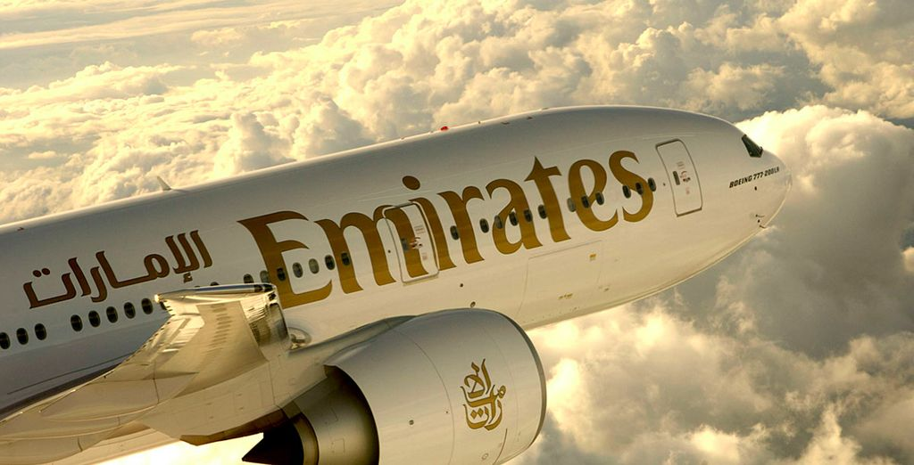 We've partnered with Emirates to offer you incredible discounts on Business and First Class seats