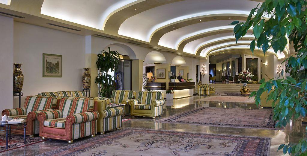 At Grand Hotel Terme