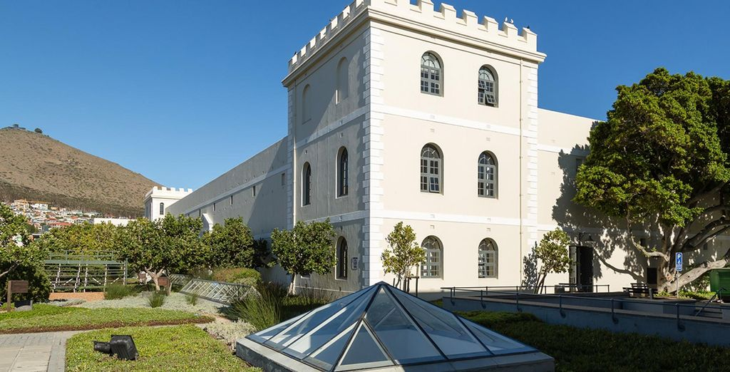 You'll stay in a restored 19th-Century prison - by the V&A Waterfront!
