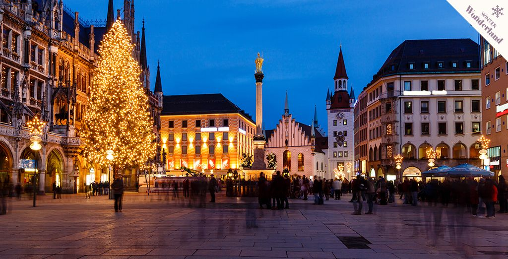 Get festive in the Bavarian capital!
