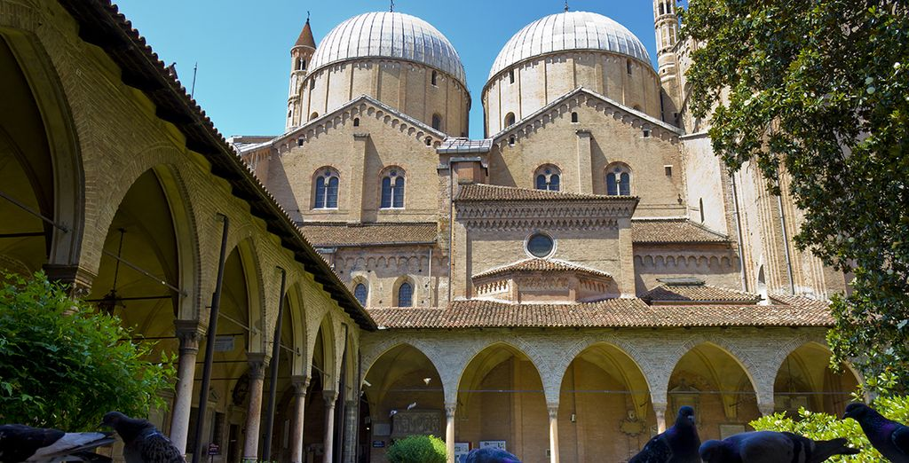 You're just 20 minutes from culture-filled Padua