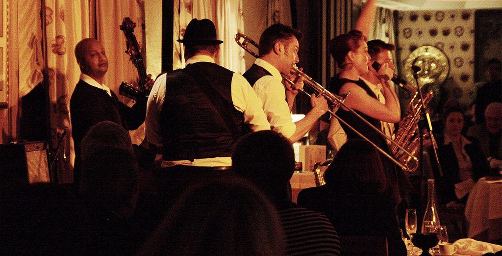 Enjoy an evening of Jazz music