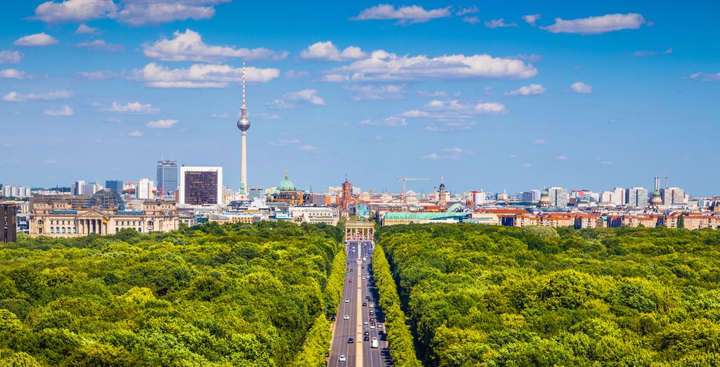 A stroll through the Tiergarten on a sunny day is a lovely experience
