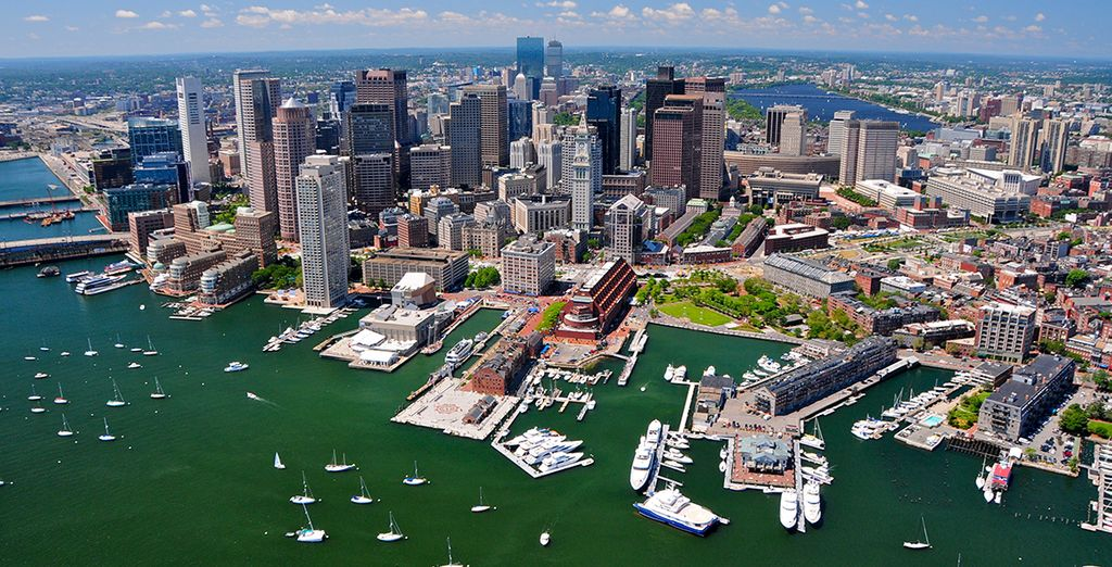 Enjoy Boston for it's colonial-charm, thriving art industry and far-reaching food scene