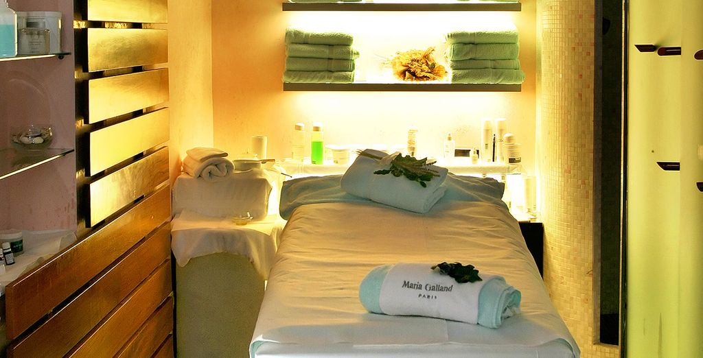 Indulge in treatments