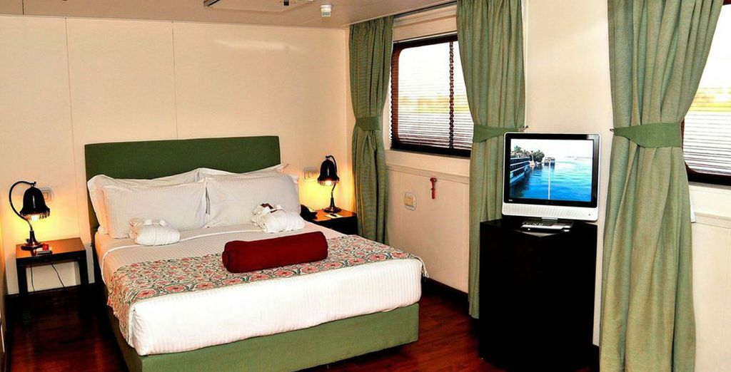 With excellent accommodation