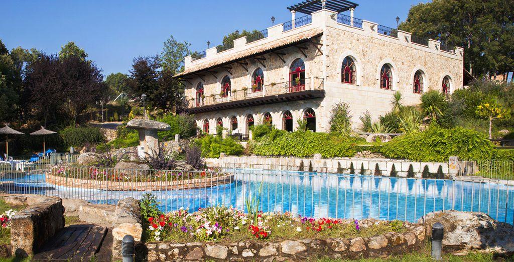 Hotel Termal Abadía De Los Templarios 4 Salamanca Hasta 70 Voyage Privé