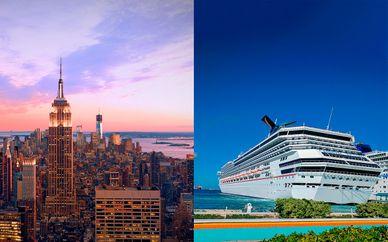 Hampton Inn Manhattan, EAST Miami 5* y crucero en las Bahamas