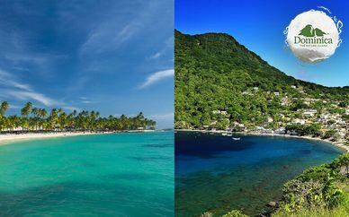 Combiné Guadeloupe et île de la Dominique