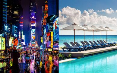 NYC Aliz Times Square 4* + Messico Ocean Riviera Paradise Daisy 5*