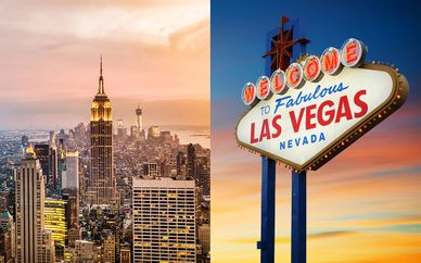 Doubletree By Hilton New York Times Square West 4* + Cosmopolitan of Las Vegas 5*