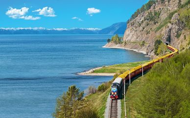 Trans-Siberian: St Petersburg to Beijing
