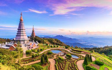 Siripanna Villa Resort Chiang Mai, Somerset Park BKK & Thavorn Beach Phuket 4*