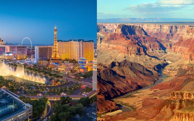 Las Vegas & Canyons Fly Drive with Optional New York City Stay