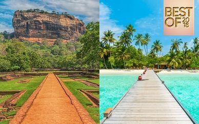 Private Sri Lanka Tour & Adaaran Select Hudhuranfushi 4*