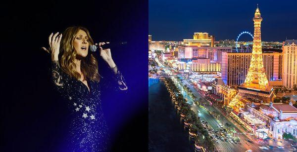 Caesars Palace 4* et Concert de Céline Dion