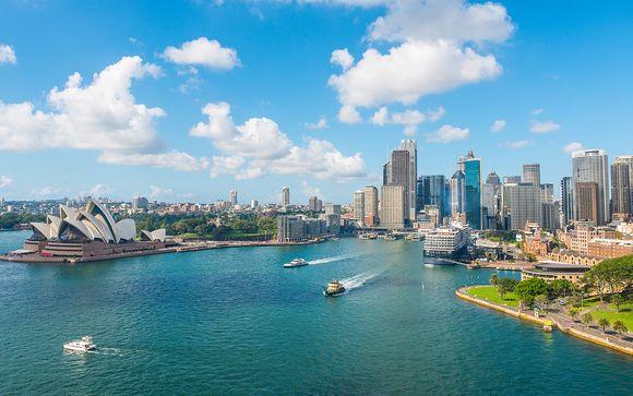 Extra opties in Sydney