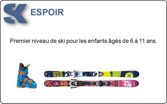 Details over verhuur van skimateriaal