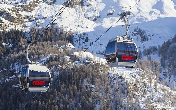 Het skigebied