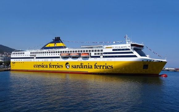 Uw optionele overtocht met Corsica Ferries