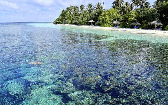Uw optionele strandverlenging naar de Malediven
