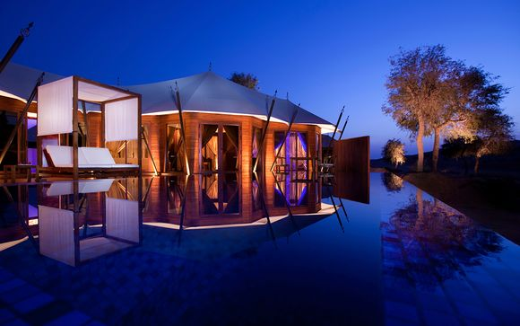 Ihre Al Khaimah Tented Pool Villa