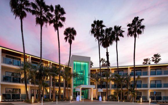 Optionale Erweiterung in Los Angeles