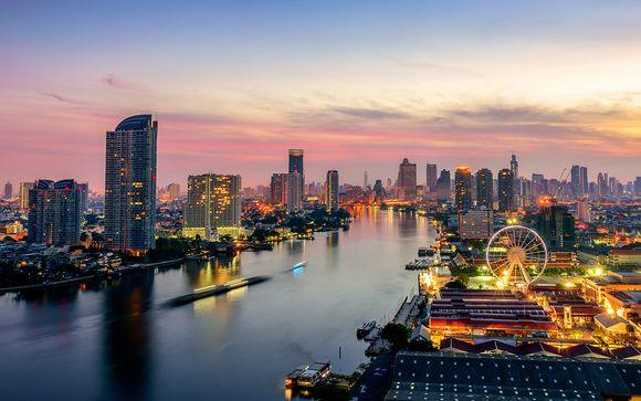 Optionaler Stopover in Bangkok