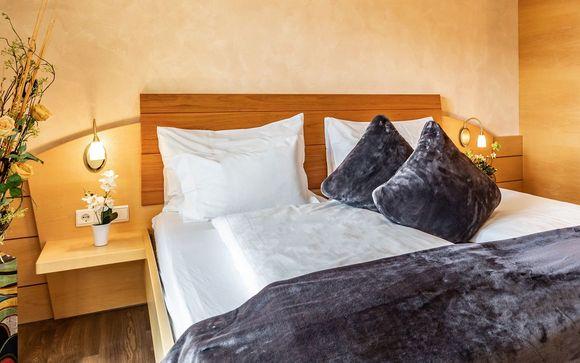 Ihr Zimmer im Boutique Hotel Kircher 4*S